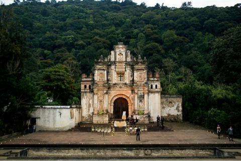 La Ermita De La Santa Cruz I Do Guatemala
